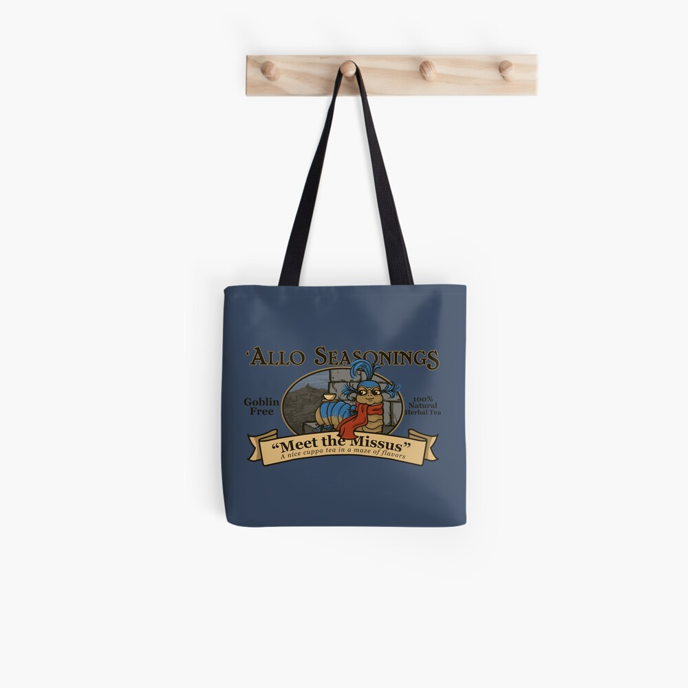 Meet the Missus Tea Tote Bag