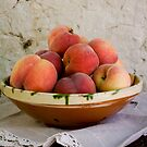 Sun Kissed Peaches by chezus