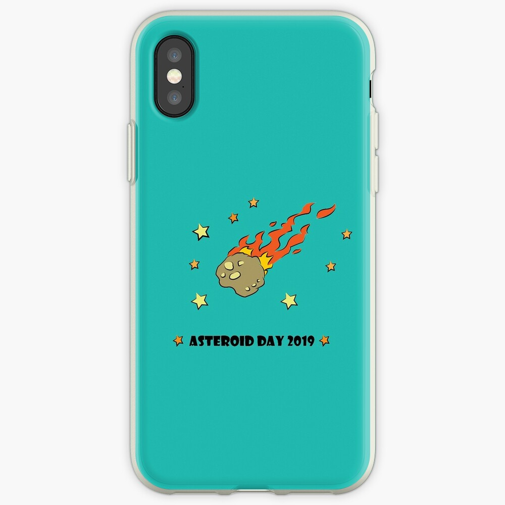 Asteroid Day 2019 - #AsteroidDay iPhone Cases & Covers