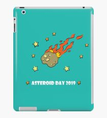 Asteroid Day 2019 - #AsteroidDay iPad Case/Skin