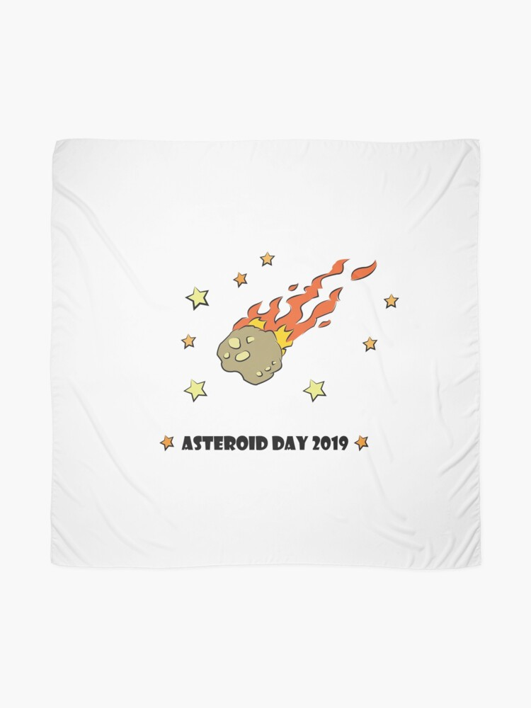 Alternate view of Asteroid Day 2019 - #AsteroidDay Scarf