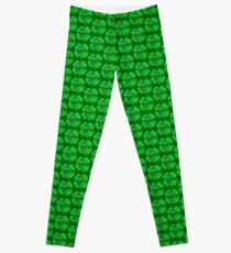 Jeep Off Road St Patrick's Distressed Design Leggings