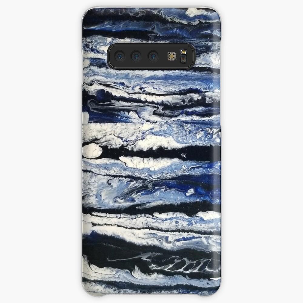 Moonlight Waves  Samsung Galaxy Snap Case
