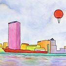 Balloon and Milwaukee by Tim Gorichanaz