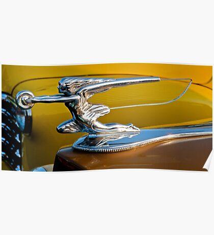 1939 Packard Hood Ornament Poster
