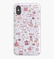 Teapots #1 iPhone Case/Skin