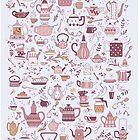 Teekannen # 1 von juliacoalrye