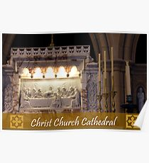 The Last Supper - Christ Church Cathedral Poster