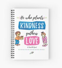 St. Basil quote Spiral Notebook