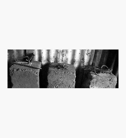 Masonary Bits Photographic Print