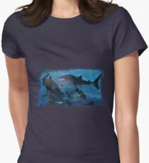 Whale Sharks Women's Fitted T-Shirt