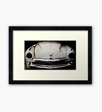 Vintage car Framed Print