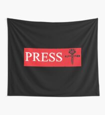 Press TShirts and Cloth Bannner For Homebase, Press Tent, etc  Wall Tapestry