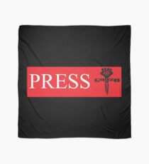 Press TShirts and Cloth Bannner For Homebase, Press Tent, etc  Scarf