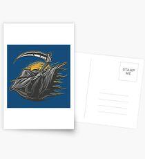 Grim Reaper Dab Postcards