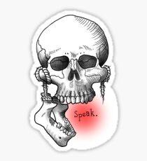 Sprechen Sticker