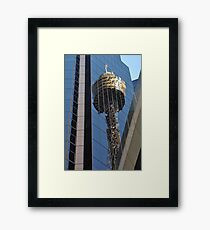 Centrepoint Tower Reflection, Sydney, Australia 2013 Framed Print