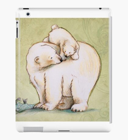 Mother and Cub 2 iPad Case/Skin