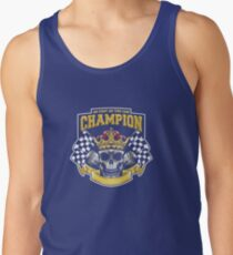 Racing Champion Skull Pistons Tank Top