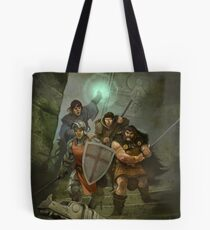 Dragon Warriors Tote Bag