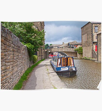 Skipton Canal Poster