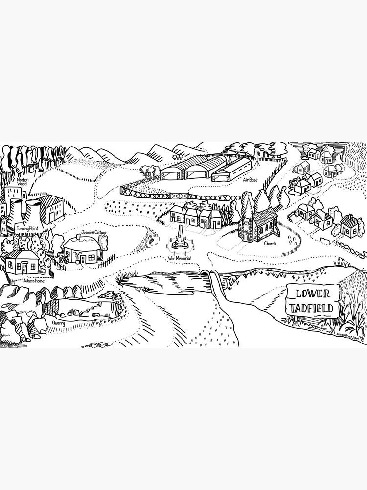 Lower Tadfield Map by Starzology