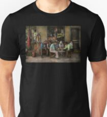 Gas Station - Playing checkers togther 1939 T-Shirt