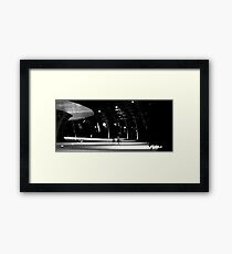 As We Travel Through Time Together Framed Print