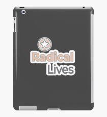 Radical Lives - Radical Lives.com iPad Case/Skin