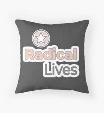 Radical Lives - Radical Lives.com Floor Pillow