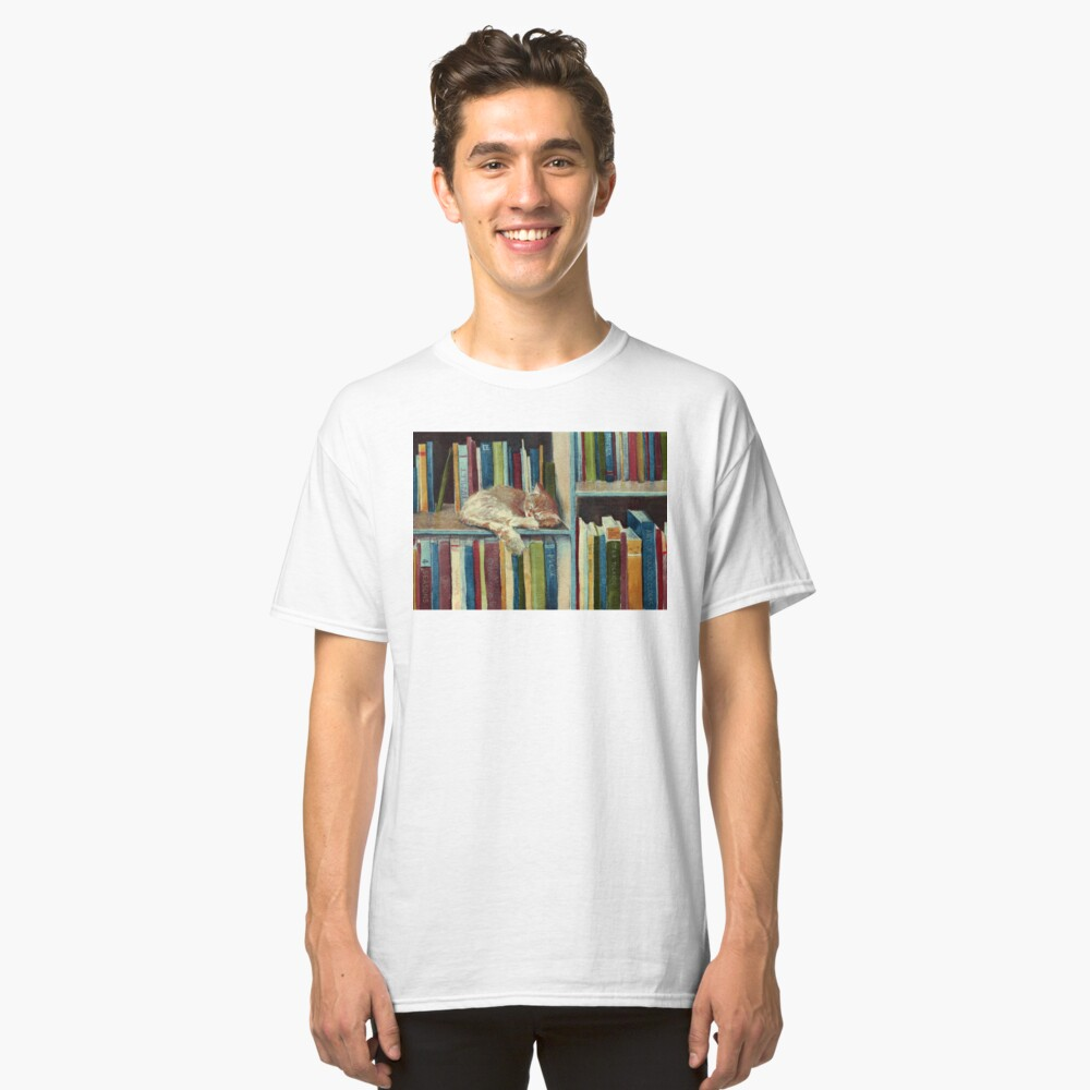Quite Well Read Classic T-Shirt Front