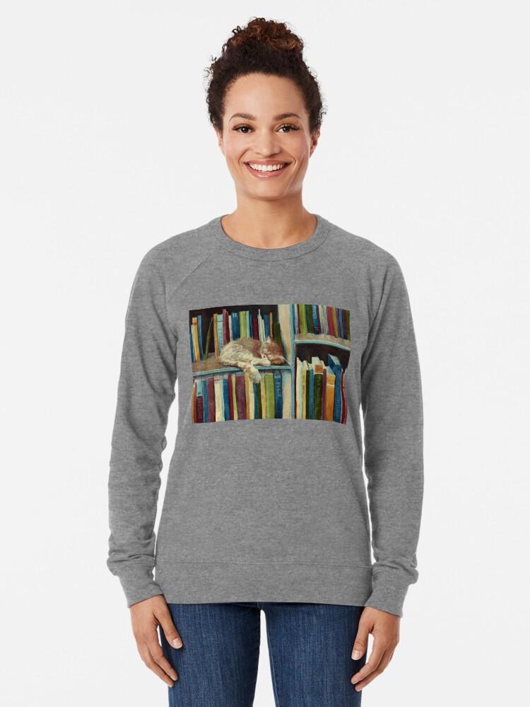 Alternative Ansicht von Gut gelesen Leichter Pullover