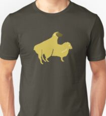 SHEEP MAKE LOVE BREEDING baa T-Shirt