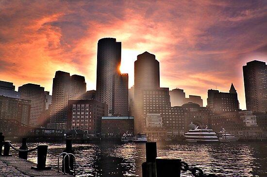 Ray of Sun, Boston, MA by LudaNayvelt