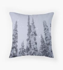 Light dusting Throw Pillow