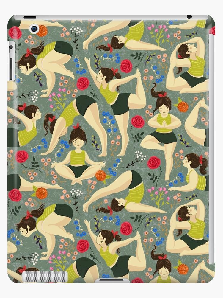 Yoga Love in blue by Gaia Marfurt