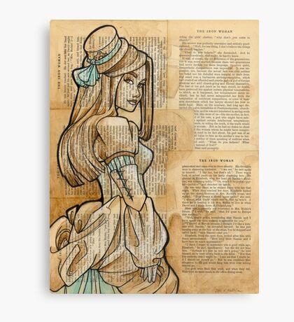 The Iron Woman 9 Canvas Print