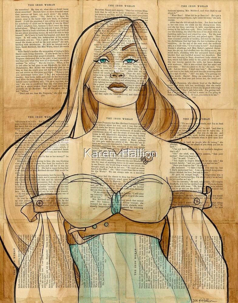 Iron Woman 8 by Karen  Hallion