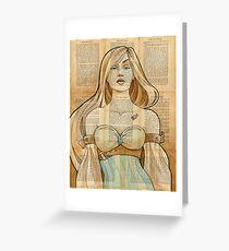 Iron Woman 8 Greeting Card
