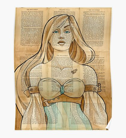 Iron Woman 8 Poster
