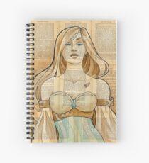 Iron Woman 8 Spiral Notebook