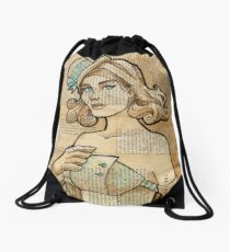Iron Woman 7 Drawstring Bag