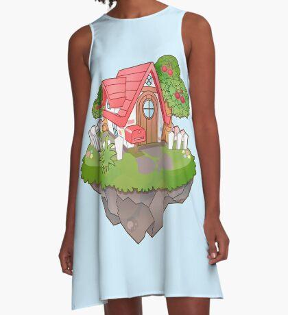 Home Sweet Home A-Line Dress