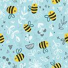 Bienen und Blumen von Anna Alekseeva