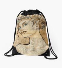 Iron Woman 5 Drawstring Bag