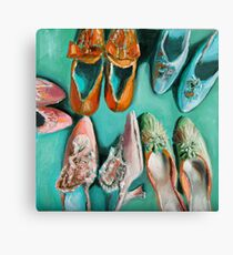 Marie's shoes Canvas Print