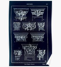 A Handbook Of Ornament With Three Hundred Plates Franz Sales Meyer 1896 0233 Supports Pilaster Capital Inverted Poster