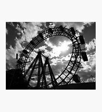 Wiener Riesenrad. Photographic Print