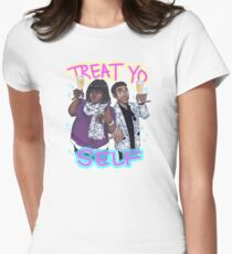 Treat Yo Self Women's Fitted T-Shirt