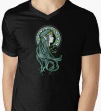 Zelda Nouveau Mens V-Neck T-Shirt
